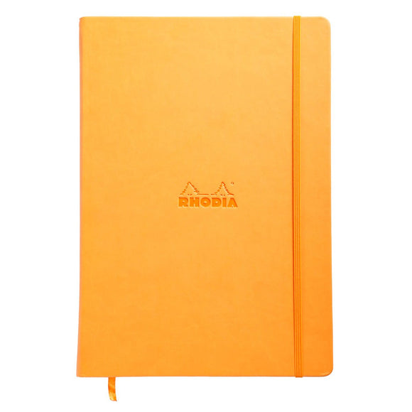 Rhodia A4 Hardback Notebook - Orange
