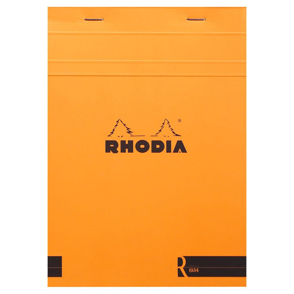 Rhodia A5 Notepad - Lined - Orange