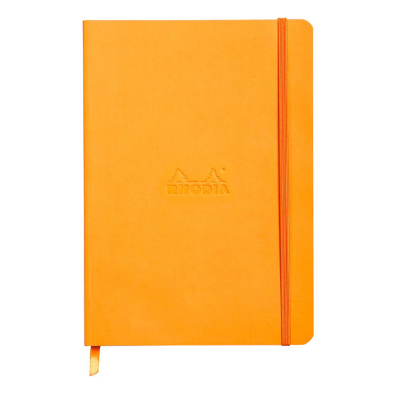 Rhodia A5 Soft Cover Notebook - Orange