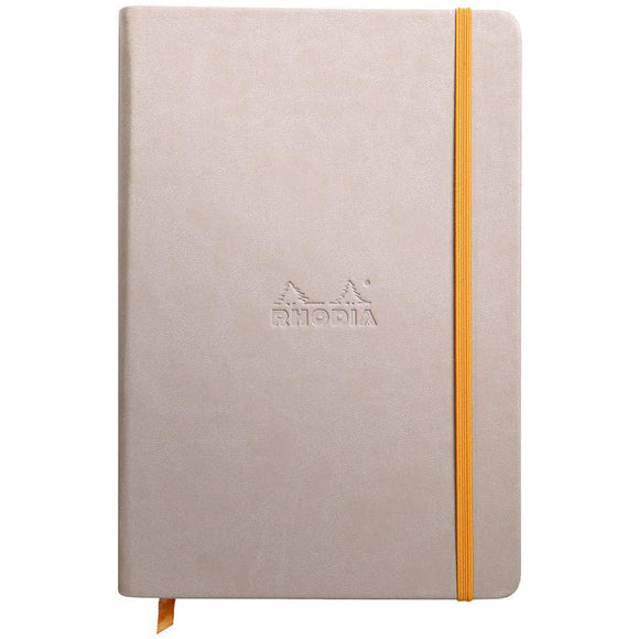 Rhodia A5 Hard Cover Notebook - Plain