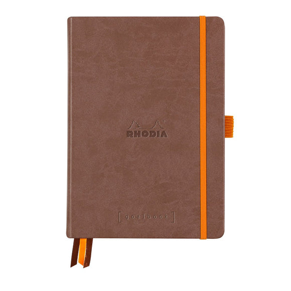 Rhodia Goalbook Hard Cover Chocolate