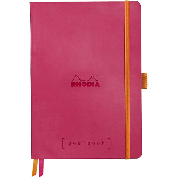 Rhodia Goalbook - Soft Cover Raspberry