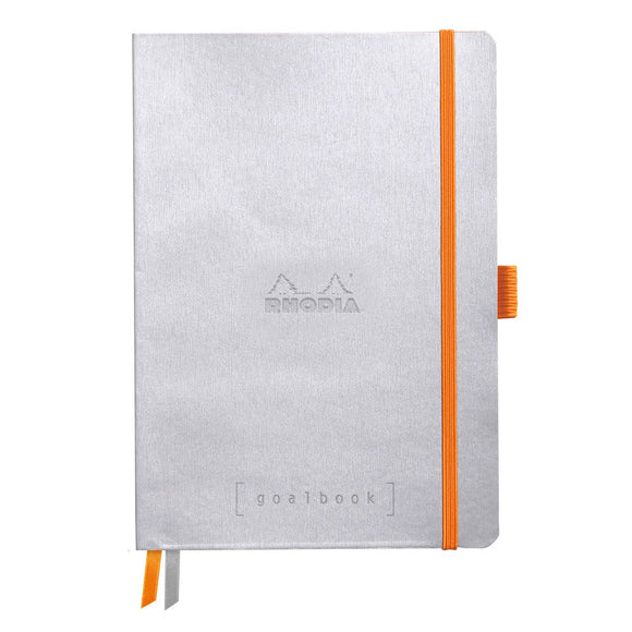 Rhodia Goalbook - Soft Cover Silver