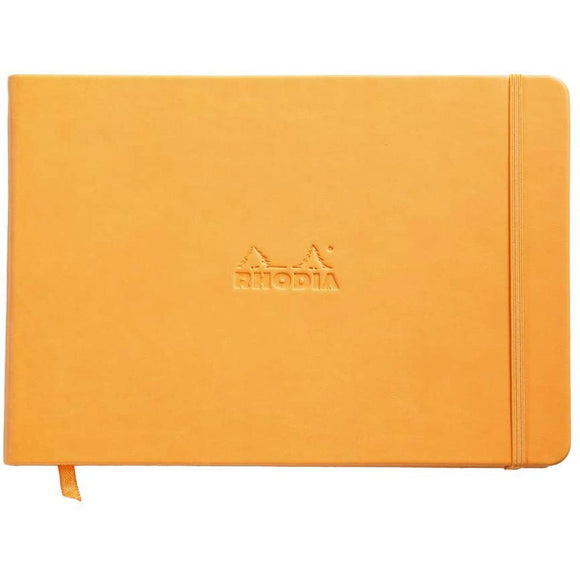 Rhodia Landscape Notebook - Plain
