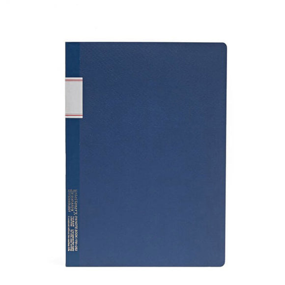 Stálogy Lined Notebook - Blue