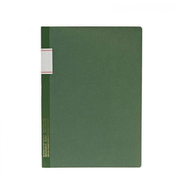 Stálogy Lined Notebook - Green
