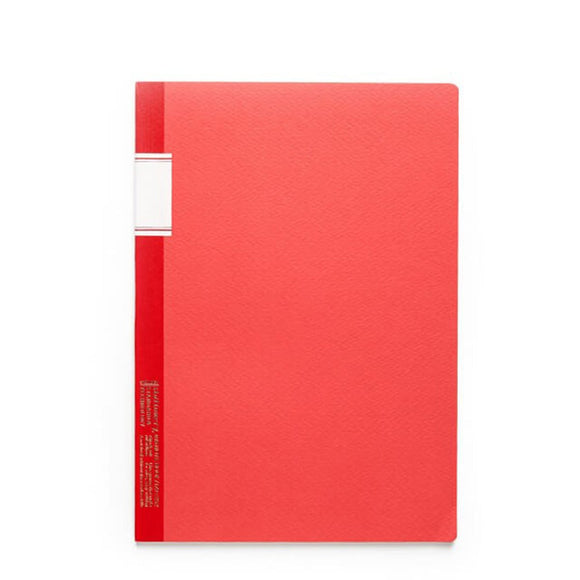 Stálogy Lined Notebook - Red