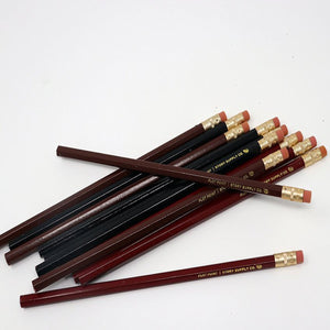 Story Supply Plot Point Hex Pencil - Burgundy