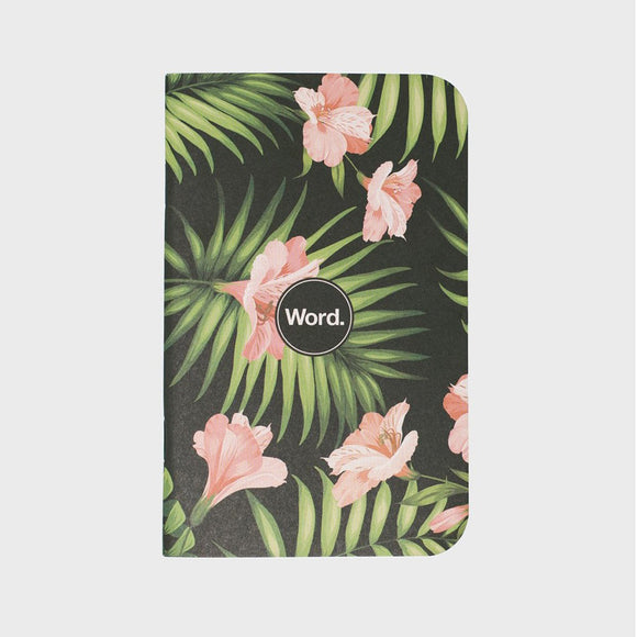 Word Notebooks - Limited Edition Aloha Leaves