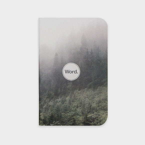 Word Notebooks - Mist Ruled Set of 3