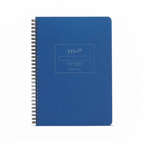 Write Notepads & Co - Dot Grid Notebook - Blue