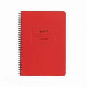 Write Notepads & Co - Dot Grid Notebook - Red