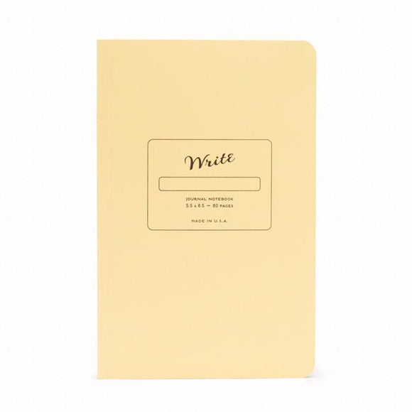 Write Notepads & Co - Journal Notebook Banana