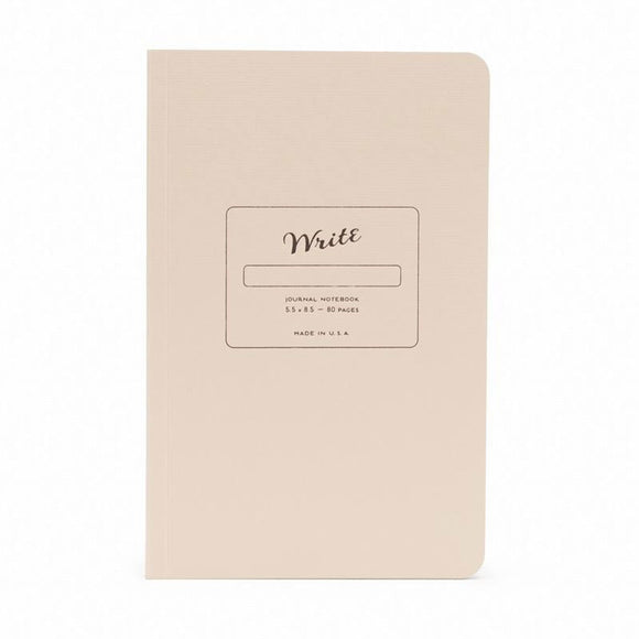 Write Notepads & Co - Journal Notebook Sand