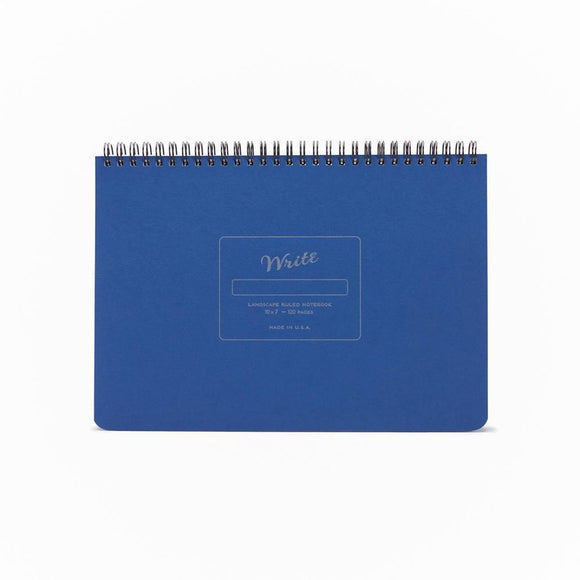 Write Notepads & Co - Landscape Notebook - Blue
