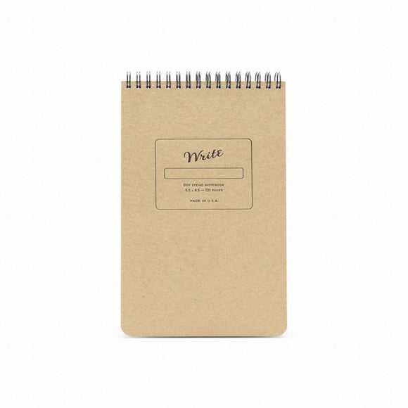 Write Notepads & Co - Steno - Kraft