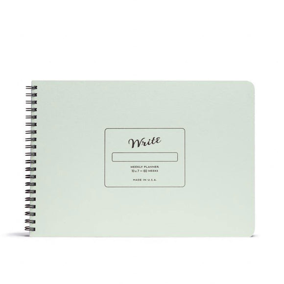 Write Notepads & Co - Weekly Planner - Pistachio