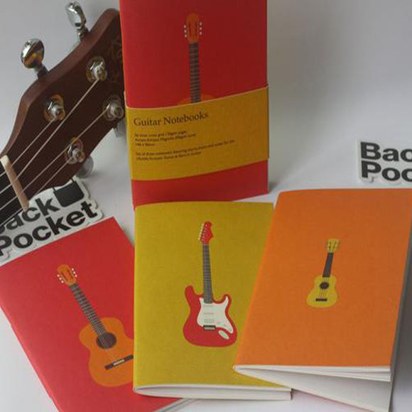 Back Pocket Guitar Notebook