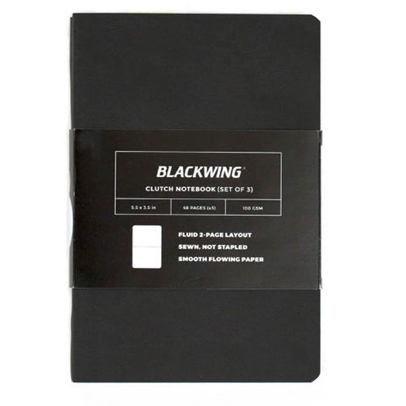 Blackwing Clutch Notebook - Set of Three