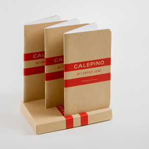 Calepino - No. 1 Notebook Ruled Set of 3