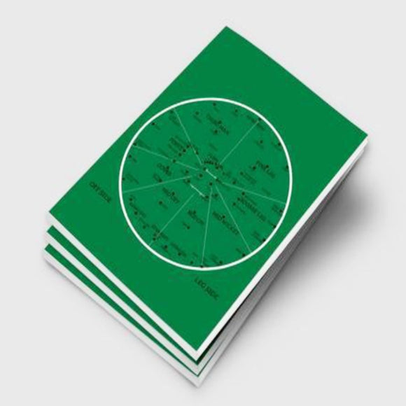 Back Pocket Cricket Notebooks