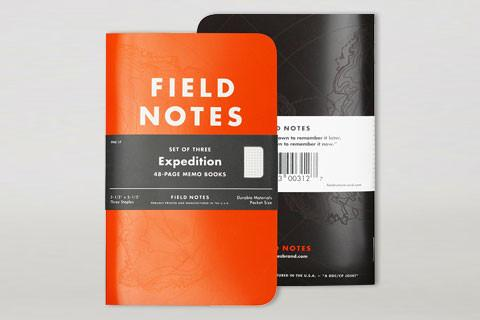 Field Notes - Expedition Set of 3