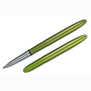 Fisher Space Bullet Pen with clip - Lime Green