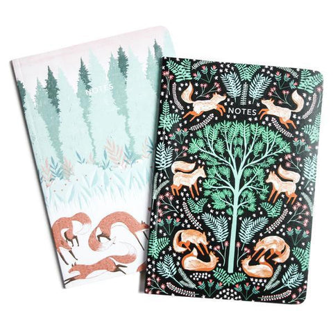 Papio Press - Folk Foxes (Twin Pack)