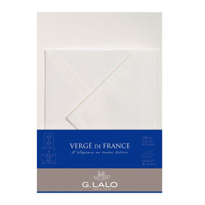 G.Lalo - Verge de France Writing Set A5