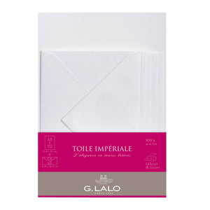 G.Lalo - Toile Imperiale Writing Set A5