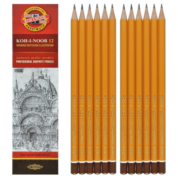 Koh-I-Noor 1500 12 Pack of Pencils