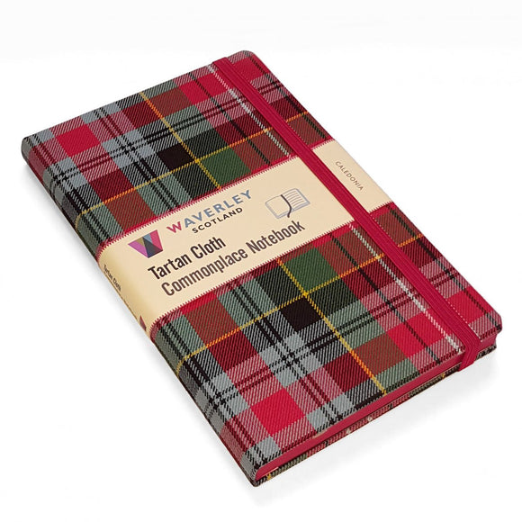 Waverley - Tartan Cloth Commonplace Notebook