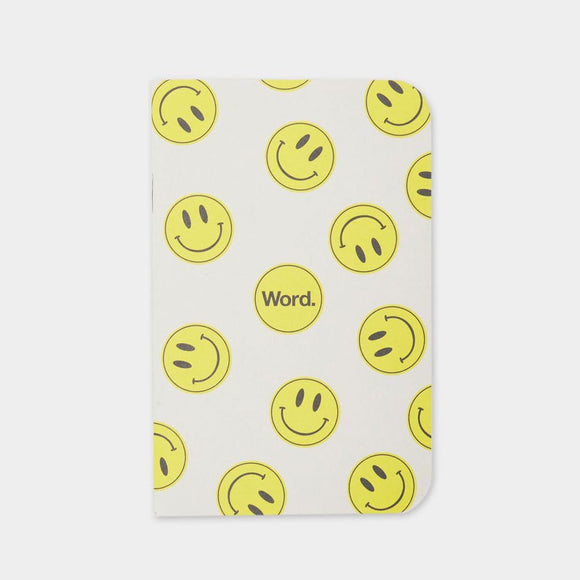 Word Notebooks - Smile - 3 Pack