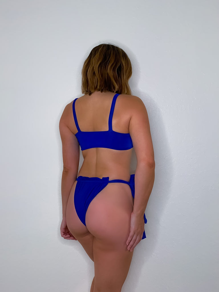 Royal Blue Cali Bottom