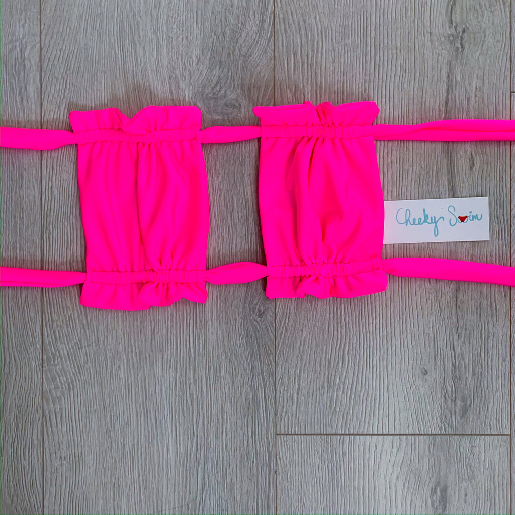 Neon Pink Lily Top