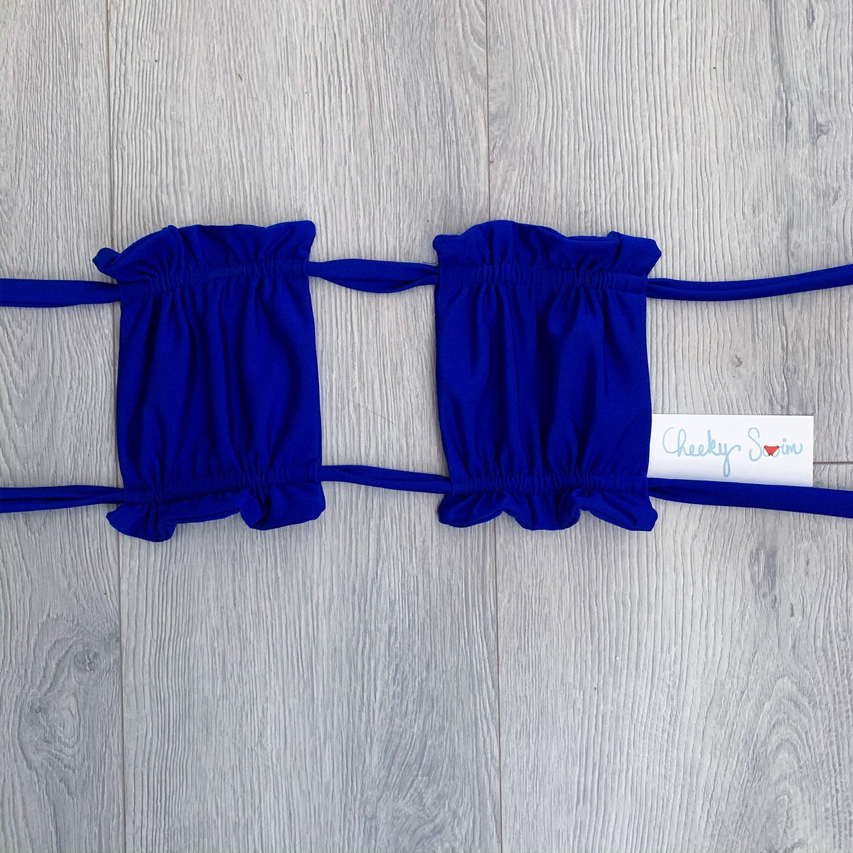 Royal Blue Lily Top