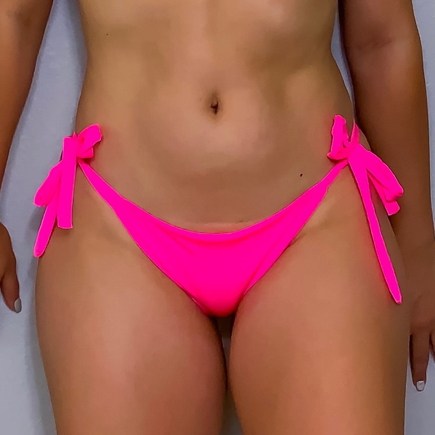 Neon Pink Palm Bottom