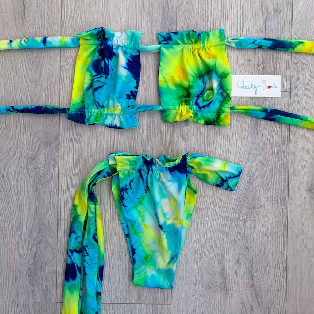 Ocean Tie Dye Lily Top + Cali Bottom