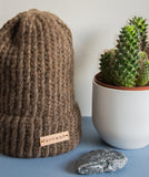 "Fernweh UK - ""BHEAG"" Hand Knit Luxury Alpaca Merino Unisex Hat"