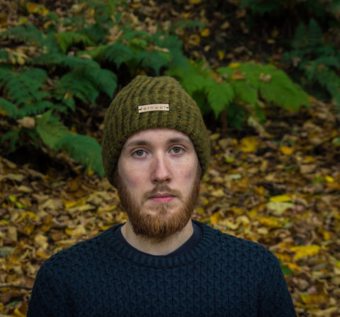 "Fernweh UK -  ""COINNICH"" Luxury Hand Unisex Knit Hat"