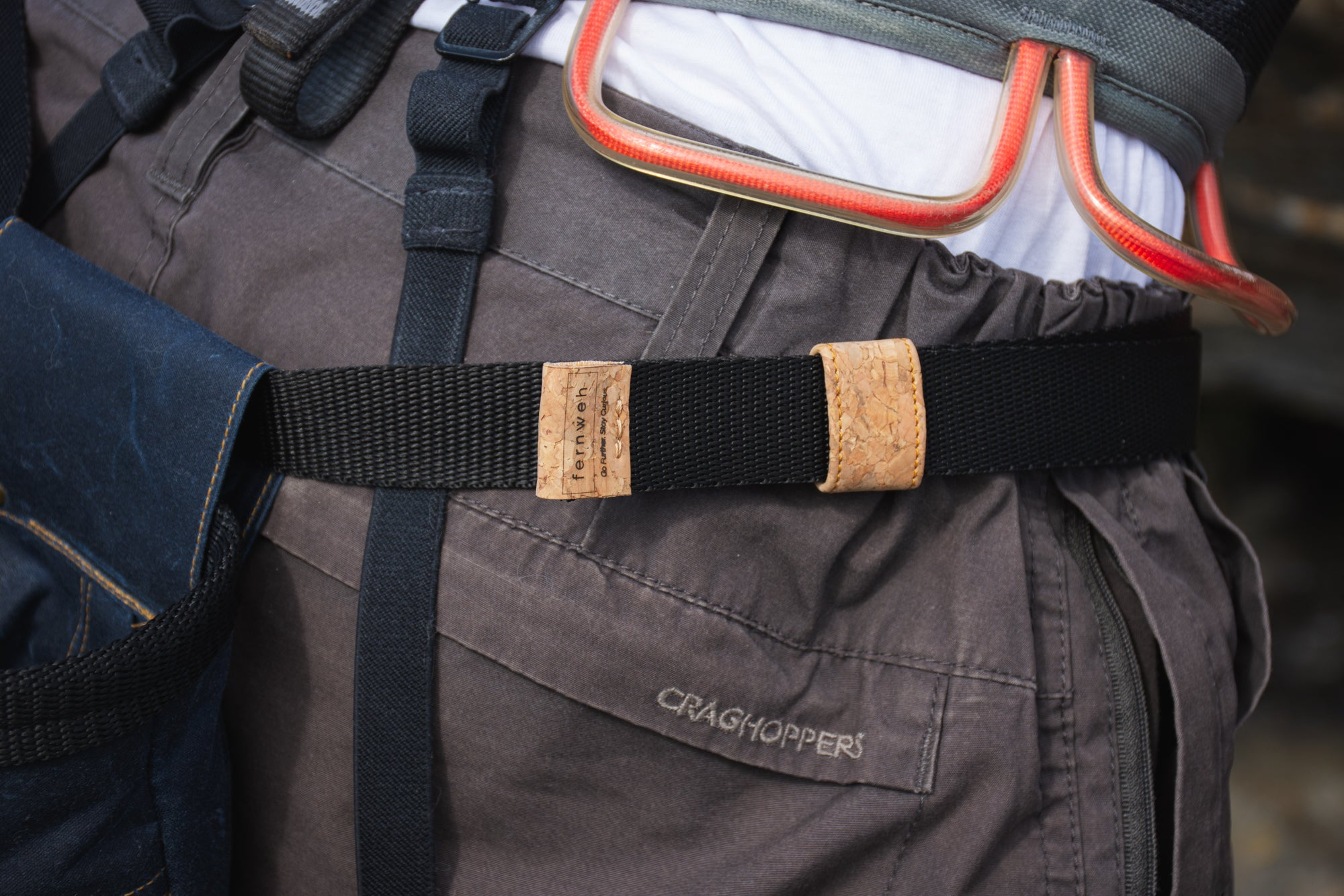 Chalk Bag Climbing Belt