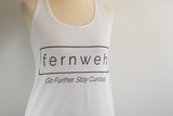 Fernweh UK - Organic Cotton Screenprint Logo Vest