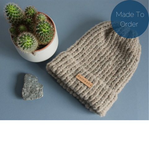 Fernweh UK 'GAIREAL' Luxury Hand Knit Merino Hat