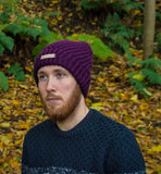 Fernweh UK 'HEATH' Chunky Hand Knit Unisex Merino Beanie Hat
