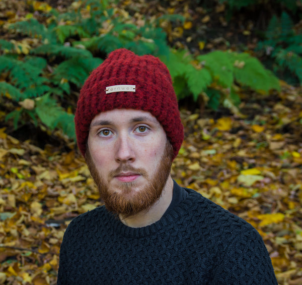 "Fernweh UK - ""SIONNACH"" Luxury Hand Knit Hat"