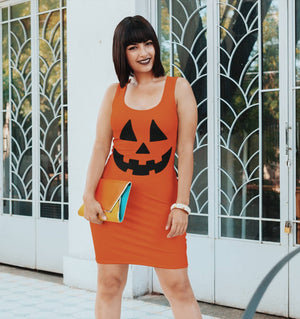 Jack'O'Lantern Dress - PlanetSlay