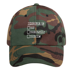 Dishonor Dad Cap - PlanetSlay