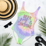 Beer Lime Sunshine Swimsuit