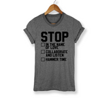 Stop Collaborate And Listen Shirt - PlanetSlay