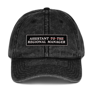 Assistant of The Regional Manager Dad Cap